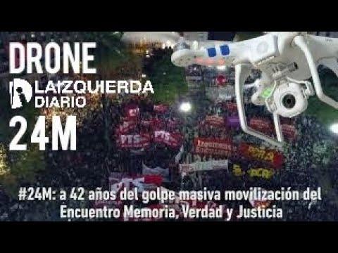 #24M: a 42 años del golpe masiva movilización del  Encuentro Memoria, Verdad y Justicia