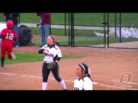 Softball Highlights: Omaha vs Nebraska