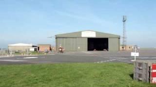 Cornwall Air Ambulance leaving base