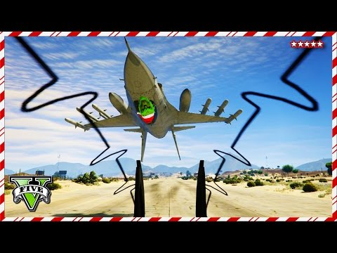 GTA 5 STOPPING GRINCH'S HEIST - ATTACKING THE Base GTA Online - GTA 5 First Person Funny Moments