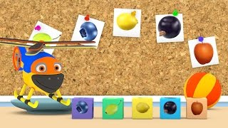 Уроки з Винтиком 3D  Фрукти - Ягоди - Овочі- мультфільми українською