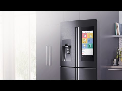 A smart FRIDGE 5 mind blowing smart home products CES 2016