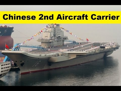 China Commissioning  Type 0001A Shandong, its 2nd New Aircraft Carrier