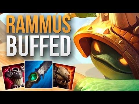 RAMMUS BUFFS IN THE PATCH 10.4 MADE HIM GOOD AGAIN | CHALLENGER RAMMUS JUNGLE GAMEPLAY | 10.4 S10