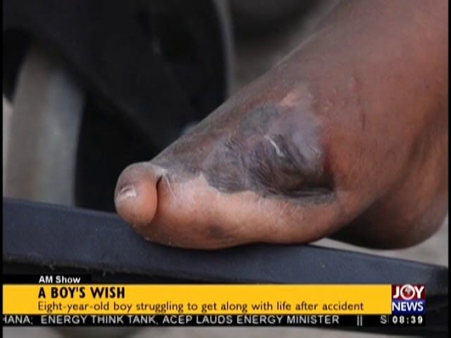 A Boy's Wish - AM Show on JoyNews (12-12-18)