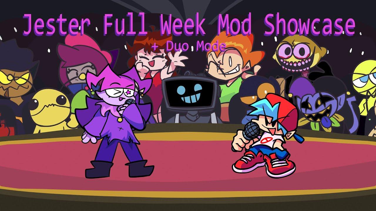 Download Jester Full Week Mod Showcase (+Duo Mode) [HARD]