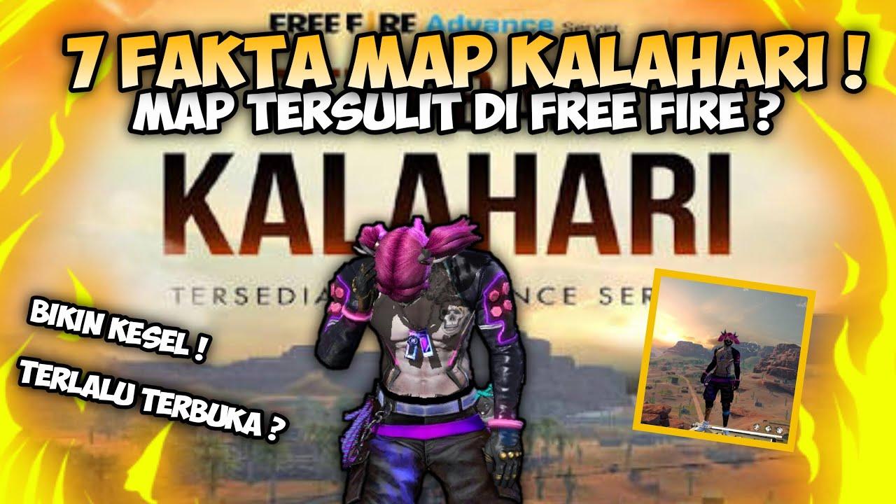 BIKIN TOSON?!! 7 FAKTA MAP KALAHARI FREE FIRE !!