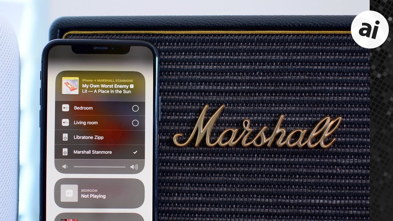 Marshall Acton   Stanmore Wi-Fi Speakers Review  Multi-Room Action w   Airplay! 8c76c166f0430