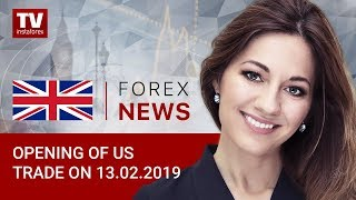 InstaForex tv news: 13.02.2019: Low US inflation boosts demand for USD (USDX, EUR/USD)