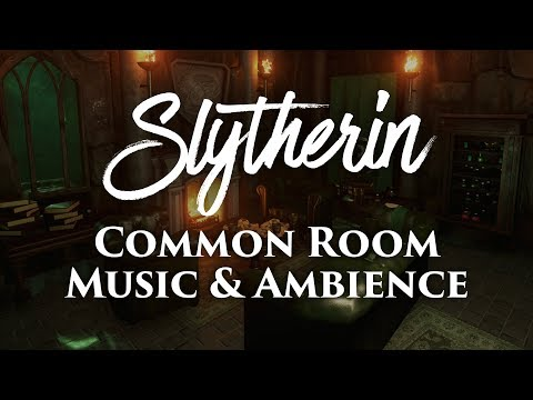 slytherin common room | harry potter music & ambience