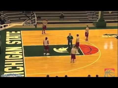 """""""Double"""" Tom Izzo - Michigan St Zone Play"""