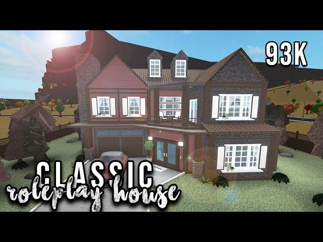 Roblox | Welcome to Bloxburg: Classic Role-play House | Speedbuild