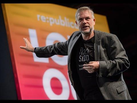 re:publica 2017 – Gunter Dueck: Flachsinn – über gute und schlechte Aufmerksamkeit