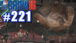 AIMING FOR THE GIANT GLOVE! | MLB The Show 16 | Road to the Show #221