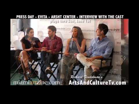 Evita at the Arsht Center Miami