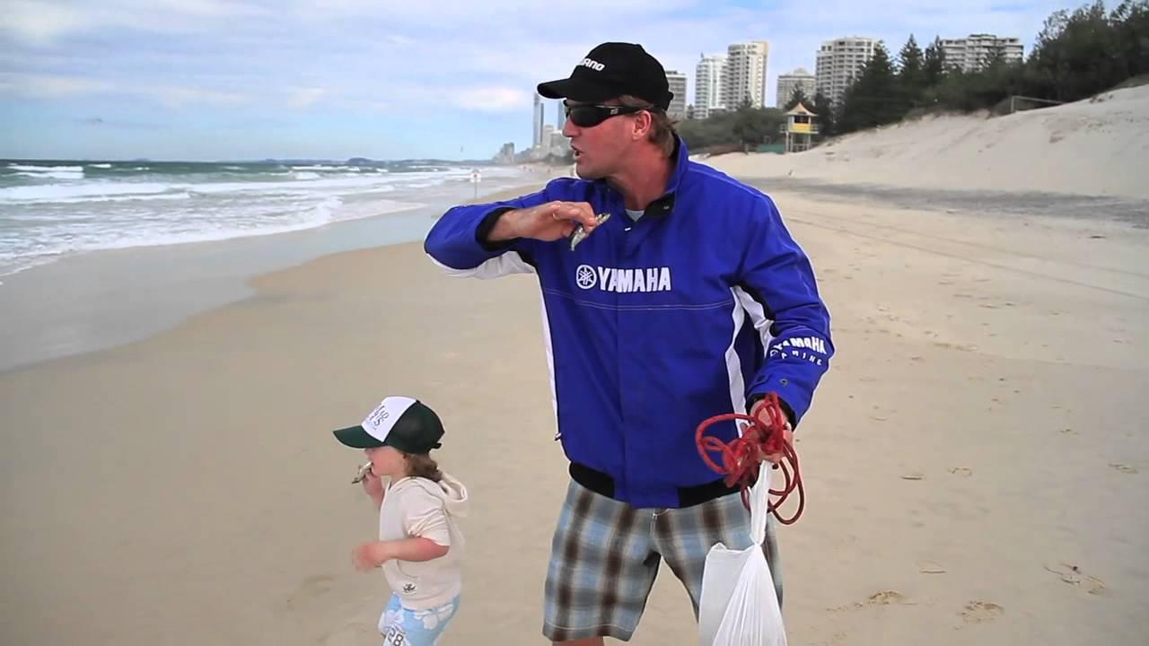 How To Catch Beach Worms Shimano Fishing Youtube