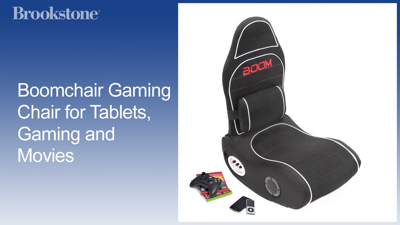 boomchair gaming chair for tablets gaming and movies youtube