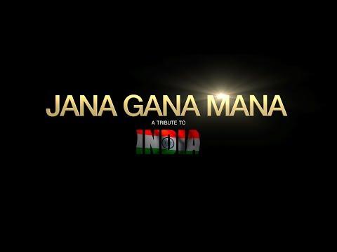 Jana Gana Mana National Anthem || A Tribute to India || Independence Day
