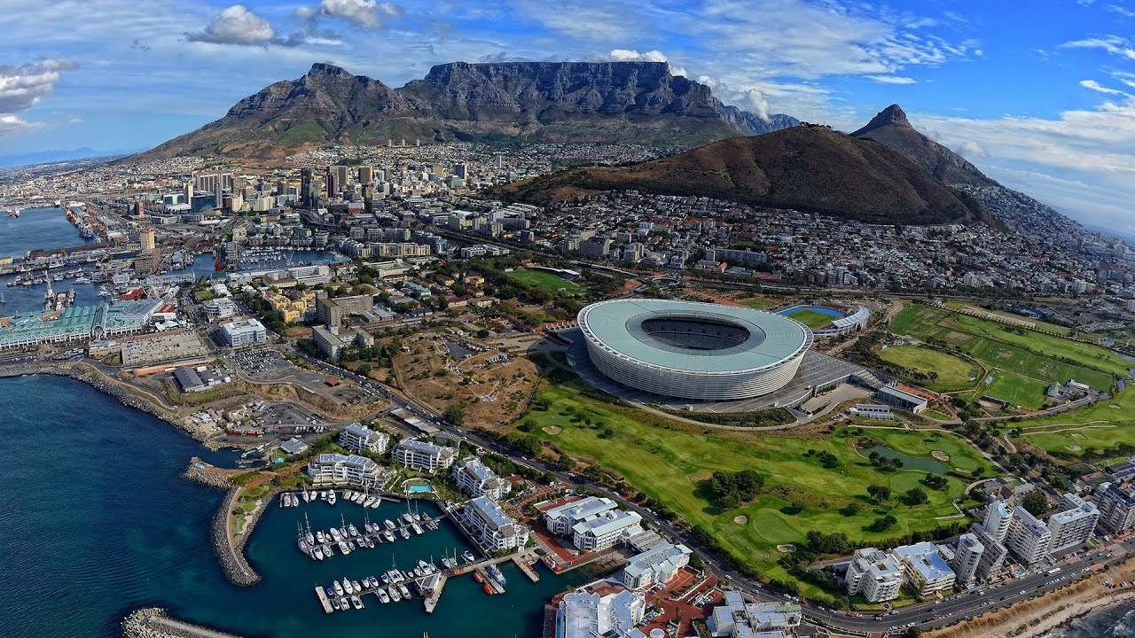 Table Mountain One Of New Wonders Of Nature YouTube - Table top mountain south africa