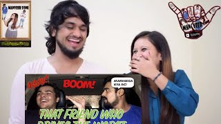 That Friend who drives THE WORST || Ashish Chanchlani Vines || Indian Reaction