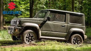 2019 Suzuki Jimny Off-Road Driving