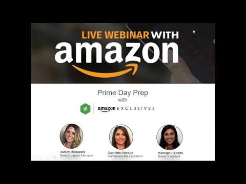 Webinar: Amazon Exclusives Prime Day Prep