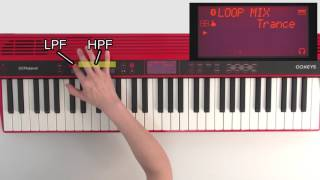 """Performing with LOOP MIX"" Roland GO:KEYS #01"