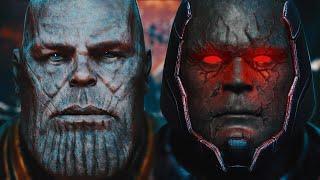 THANOS vs. DARKSEID (Battle of the Titans) - FULL PART   EPIC BATTLE!