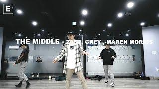 TAE WAN CHOREOGRAPHY CLASS | THE MIDDLE - ZEDD, GREY, MAREN MORRIS | 이댄스학원 | 얼반댄스