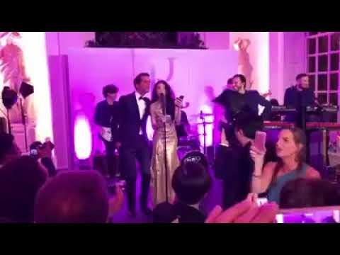 Mika and Karen Mok. London Kensington Palace ( Ips Ltd facebook video )