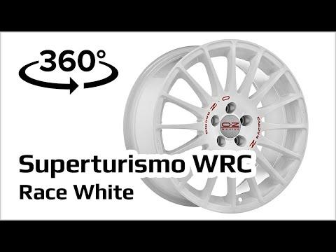 Jante Alu OZ Superturismo WRC Race White