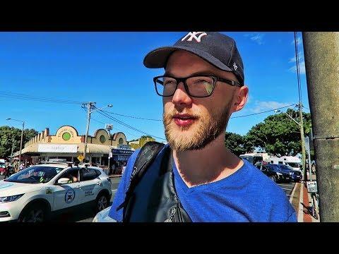 PIERWSZY DZIEŃ PRACY W AUSTRALII