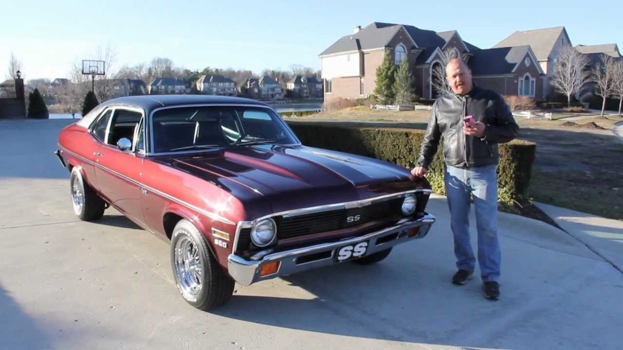 1972 Chevy Nova Classic Muscle Car for Sale in MI Vanguard Motor     1972 Chevy Nova Classic Muscle Car for Sale in MI Vanguard Motor Sales