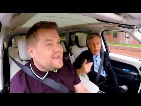 Paul McCartney Carpool Karaoke - Let It Be - Legendado