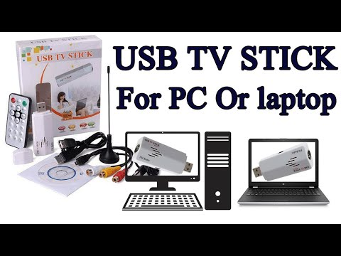 USB TV STICK UTV 383E Unboxing & Full Setup.