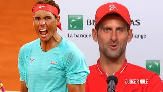 Djokovic & Nadal Set Historic Roland Garros Final | Tsitsipas and Schwartzman