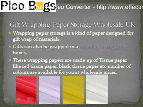 Wholesale Gift Wrapping paper Storage - Printed Paper carrier bags Suppliers