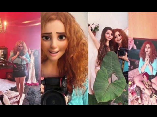 Gina Stocco Fotógrafa aprendendo cartoon 3D Style a ser boneca