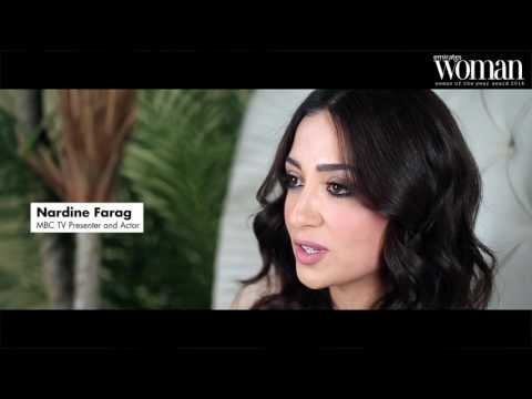 Emirates Woman, Woman Of The Year Awards 2016, Artists Nominee — Nardine Faraj