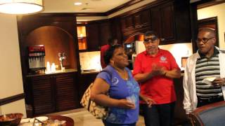 welcome to jamaica and sandals lounge at montego bay airport