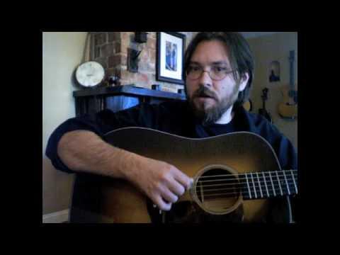 Bluegrass Flat Pick Guitar:  Right Hand Tech clip 2