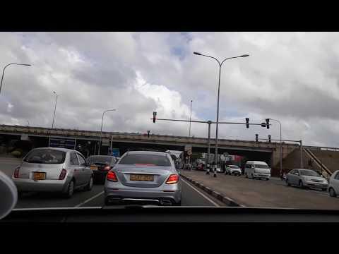 Expressway from Negombo to Colombo, Sri Lanka