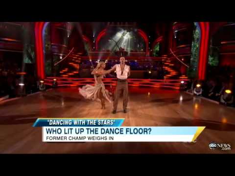 'Dancing With The Stars': Hines Ward Routing for David Arquette, Picks Best, Worst Dances