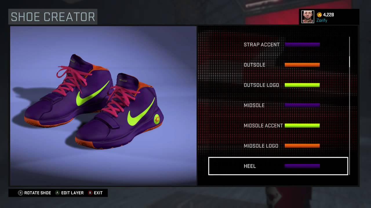 NBA 2K16 Shoe Creator - Nike KD Trey 5 III