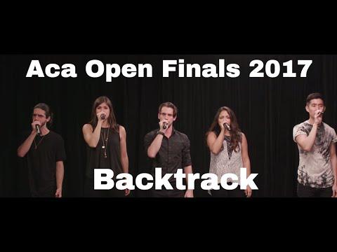 Aca Open Finals Set 2017 - Backtrack