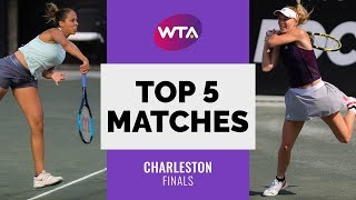 Charleston | Top 5 Final Matches