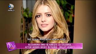 Teo Show (13.12.2017) - Alexandra Dinu se iubeste cu Adrien Brody in