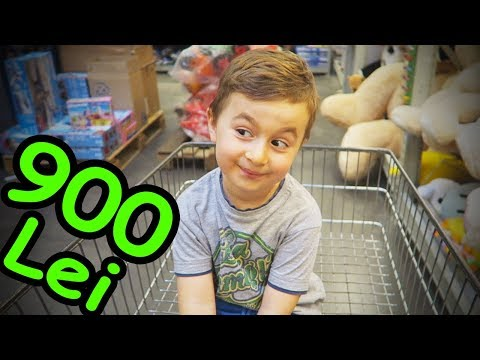 Alex si 900 de Lei la Supermarket