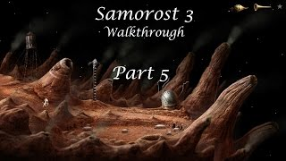 Samorost 3 Walkthrough - Part 4/5 - Whole game in 5 parts (Created by Amanita Design)