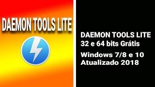Como Baixar Instalar DAEMON TOOLS LITE 32 e 64 bits Grátis | Windows 7/8 e 10